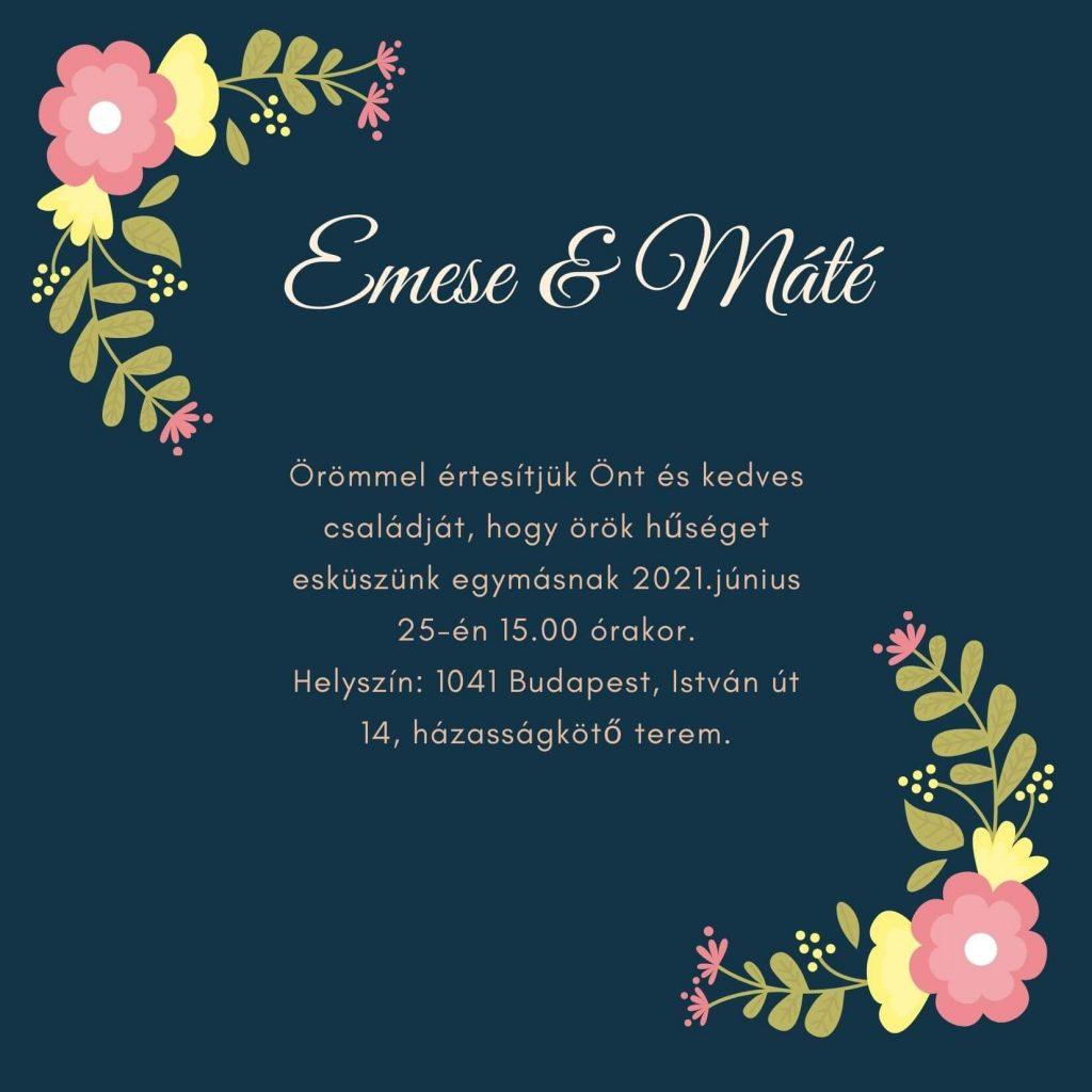esküvői meghívó betűtípus