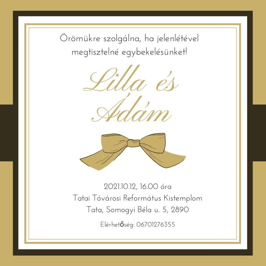 esküvői meghívó tervező program